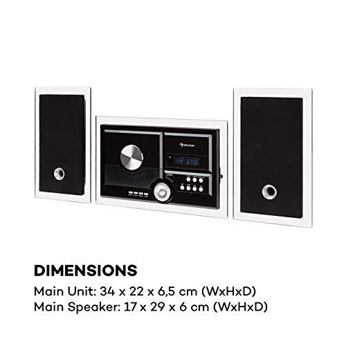 Auna Stereosonic Stereo System • Minicadena estéreo