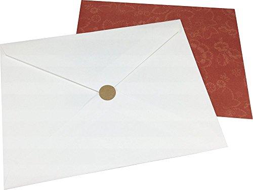 Marrón Kraft Circulo Punto Pegatinas, 13 mm 1/2 Pulgada Redondo, 1000 Etiquetas en un Rollo