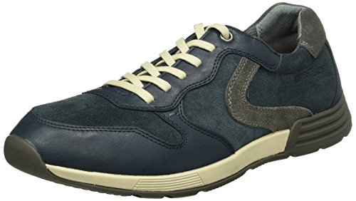 Camel Active Pro 11, Baskets Basses Homme Bleu (Navy/Grey 03)