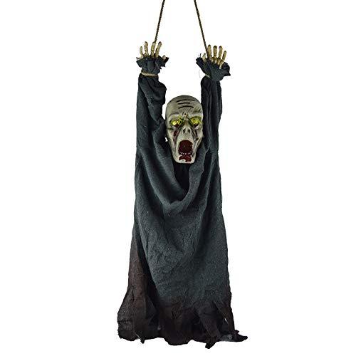 ationen, Horror Secret Room Requisiten, Zombieszenen, Hängende Geister, Gebundene Hände, Glühendes Schreien,Black ()