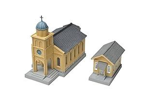 TomyTEC 234838-Iglesia con nebengebäude Modelo Ferrocarril Accesorios