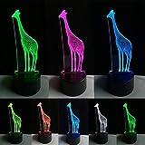 Best Smart Touch Music African Musics - Klsoo 3D African Animal Giraffe Desk Lamp Vision Review