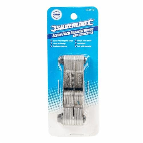 Silverline 245110 - Galga (tamaño: 0.25-6mm)