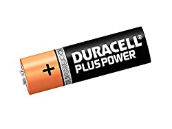 Duracell Plus Power Type AA Alkaline Batteries, Pack of 12 by Duracell