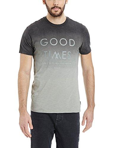Bench Herren T-Shirt Demense Grau (Mid Grey GY075)