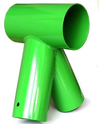 Gartenpirat Schaukelverbinder rund grün 100/80/80 mm Schaukel selber Bauen