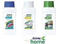 Amway Home Sparkling Gift Box (Set of Dish Drops, SA8 Liquid And L.O.C 200Ml Each)