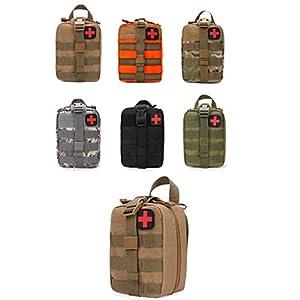 GXYCP Erste-Hilfe-Kit EMT Outdoor-Bergsteigen Medizinische Tasche Molle Travel Klettern Lebensrettende Tasche