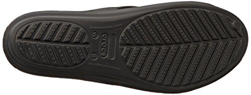 Crocs Sanrah Circle Bow Sandalo Black/black