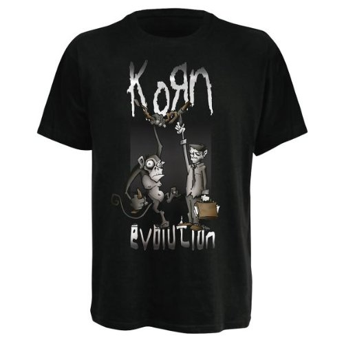 Korn - T-Shirt Monkey Hang (in S)