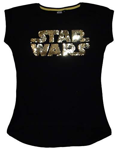 STAR WARS Camiseta SW53025826 Mujer Lentejuelas Que