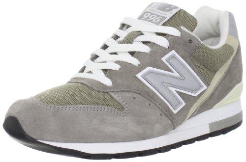 New Balance M996 Hommes Daim Baskets gray-White