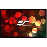 "Elite Screens ""Sable Frame ER92WH1"" Rahmenleinwand 203,7cm x 114,5cm (BxH) 16:9 92"" 16:9 projection screen - projection screens (2.34 m (92""), 2.04 m, 114.5 cm, 16:9) - Confronta prezzi"
