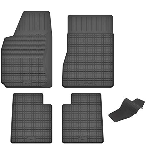KO-RUBBERMAT Gummimatten mit Tunnel geeignet zur Toyota Corolla IX (Bj. 2002-2007) ideal angepasst 5-Teile EIN Set