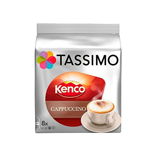 Purchase Tassimo T Discs Kenco Cappuccino (1 Pack, 16 T discs/pods) from Jde Coffee