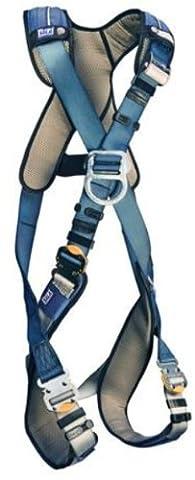 DBI/Sala Exofit XP Cross-Over Stil Full Body Hundegeschirr, Marineblau/Gelb, 1109802