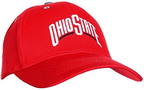 Hip-hop-holzkohle (Ohio State Buckeyes Herren MVP Ball GAP, Herren, rot)