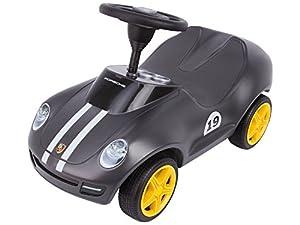 BIG-800056346 Vehículo correpasillos con Volante, Color Negro (800056346)