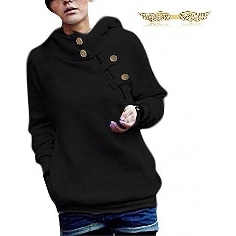 BYD da Donna Felpe con cappuccio Manica Lunga Hoodies Sweatshirt