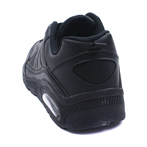 Runtech Hommes Des Sports Chaussures Baskets Black