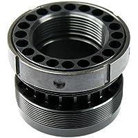 VORCOOL Écrou cylindrique de noix d'écrou de vis de 5.56 pouces avec écrou de blocage en acier