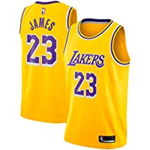 Zhao Xuan Trade Los Angeles Lakers Lebron James Baloncesto Masculino Cosido Transpirable # 23 Sport Swingman