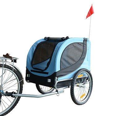 Remolque Bicicleta Perros Mascota 1 Bandera 6...