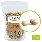 MACADAMIA-NÜSSE BIO | 1kg | Rohkostqualität von Jalall D'or | aus Kenia | ganze Nüsse ungeröstet und roh | fair gehandelt aus Kleinbauernprojekt | frisch abgefüllt | cremig knackiger Makadamianuss Geschmack