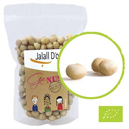 MACADAMIA-NÜSSE BIO natur | 1 A Qualität | 1kg | von Jalall D'or | aus Kenia | ganze Nüsse...