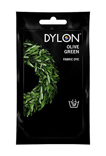 DYLON® Hand Farbstoff 50g sein - Umfangreiches Angebot an Farben verfügbar! (Olivgrün) (Olivgrün Strumpfhosen)