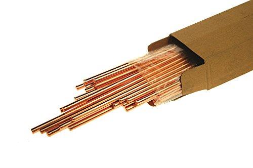 AES W 0158CARBONO  RANURADO 6 0MM DE DIAMETRO X 305MM DE LONGITUD (PACK DE 100)