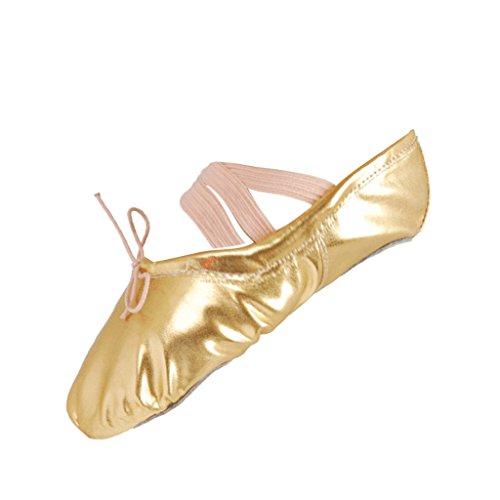 Chaussure de Danse Chausson de Ballet Gymnastics Ballerines Fille