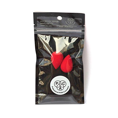 PAC Beauty Blender Sponge (Mini) (2 Pcs) (Red) (Dewdrop)
