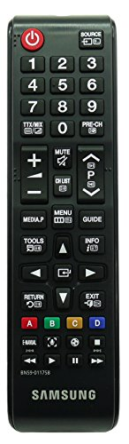 SAMSUNG BN59-01175B BN5901175B TM1240 Remote Control for SAMSUNG LED LCD Plasma 3D Smart TVs - With Two 121AV AAA Batteries Included.
