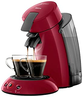 Philips Senseo Original XL HD6555/82 Cafetera Monodosis con Tecnología Coffee Boost, Rojo, 22.5x46.6x37 cm (B075JMSJKB) | Amazon price tracker / tracking, Amazon price history charts, Amazon price watches, Amazon price drop alerts
