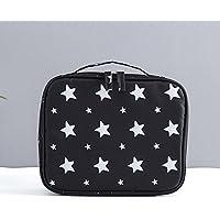 Pochette de maquillage Portable sac cosmétique grande capacité femelle sac de rangement pochette sac cosmétique Coréenne trompette étanche sac de lavage de voyage , #2 , B