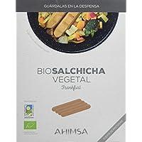 Ahimsa Salchichas Vegetales Larga Duración - Paquete de 12 x 230 gr - Total: 2760 gr