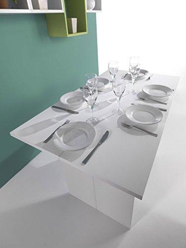 Tavolo salvaspazio inside bianco