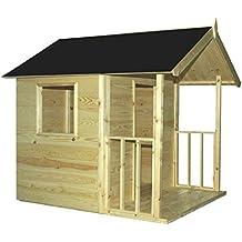 Cadema - Casa de jardín para niños, de madera, 1,2 x 1,8 m