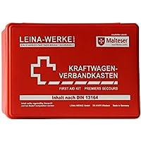 Leina Werke 10000 KFZ-Verbandkasten Standard, Rot/Weiß preisvergleich bei billige-tabletten.eu