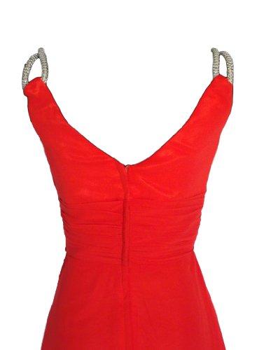 Alivila.Y Fashion -  Vestito  - Senza maniche  - Donna Red