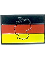 Pin de metal en relieve y bandera alemana