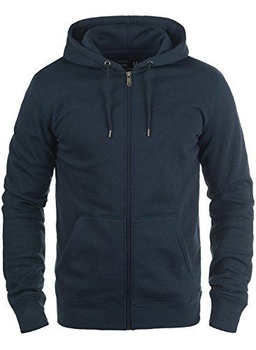 Solid Hoodie Sweatshirt (!Solid BertiZip Herren Sweatjacke Kapuzenjacke Hoodie Mit Kapuze Reißverschluss Und Fleece-Innenseite, Größe:M, Farbe:Insignia Blue (1991))