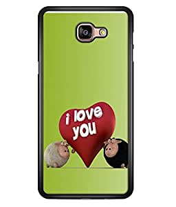 FUSON Designer Back Case Cover for Samsung Galaxy A9 (2016) :: Samsung Galaxy A9 Pro (2016) (Quote Love Heart Messages Crazy Express Sorry )