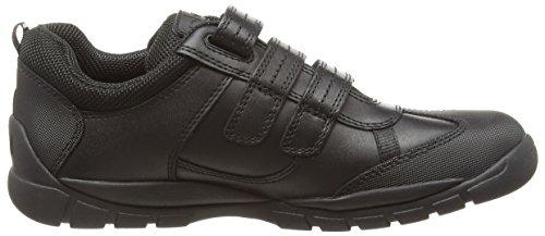 Start Rite Jungen Limestone Sneakers, Schwarz Schwarz (Black)