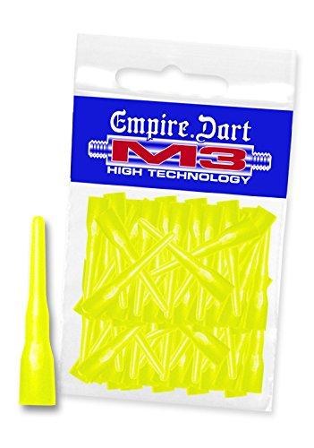 EMPIRE Dart M3 Dart-Spitzen Neongelb lang 50 Stk