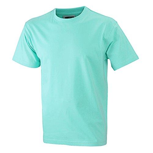 JAMES & NICHOLSON Kinder Komfort-T-Shirt aus hochwertigem Single-Jersey Mint