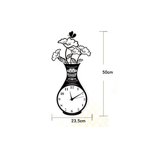 EDSH horloge murale Horloge murale moderne et moderne Minimaliste (taille : 50 cm)