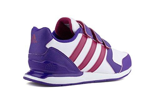 Adidas StreetRun VII CF K Sneakers Ftwwht/Bopink/Powpur