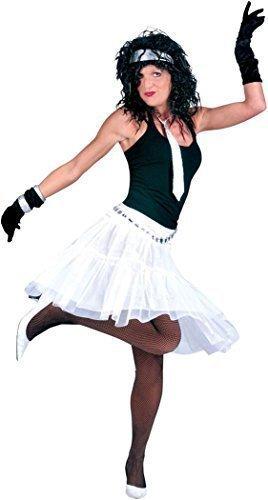 Damen Fancy Party Kleid Moulin Rouge Dance Tutu Petticoat lang Kostüm Rock